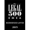 The Legal 500 EMEA recommended lawyer 2019